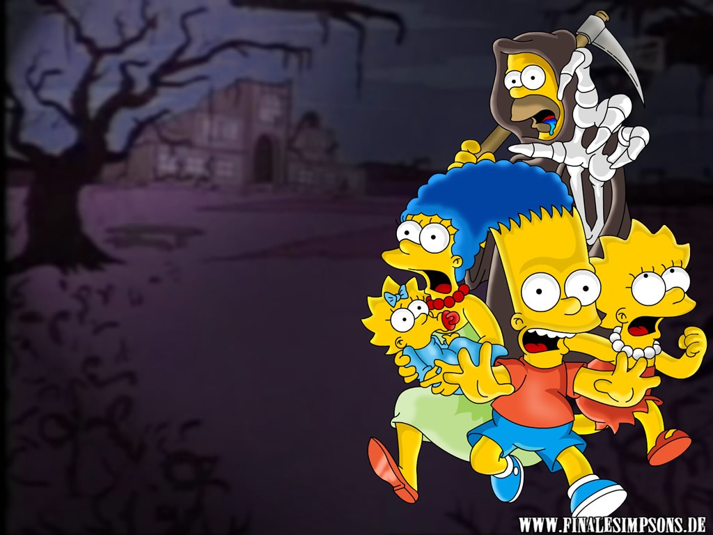 Galerie photo homer for Simpsons wallpaper for bedroom